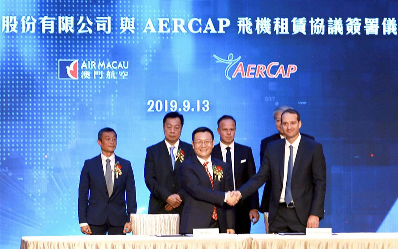 Air Macau AerCap deal