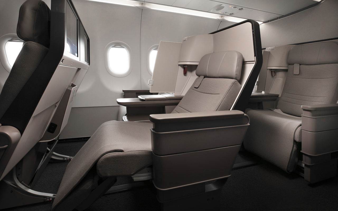 Cathay Pacific A321neo Business Class