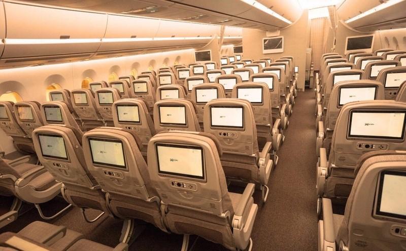 China Eastern A350 Economy