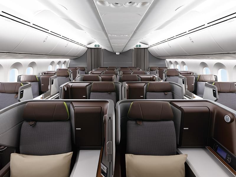 EVA Air Boeing 787-9 Business Class