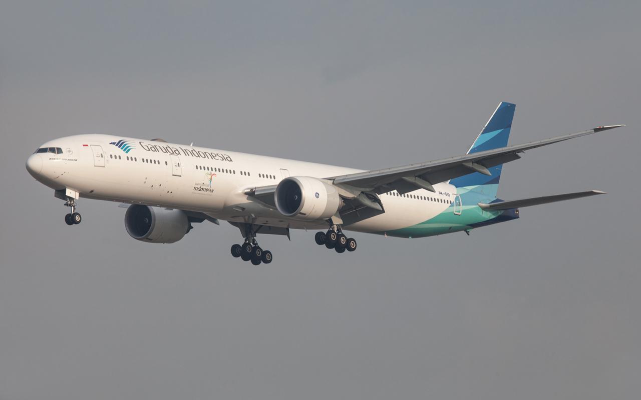 Garuda Boeing 777