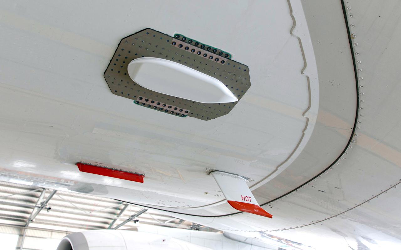 Lufthansa A350 klimaatonderzoek