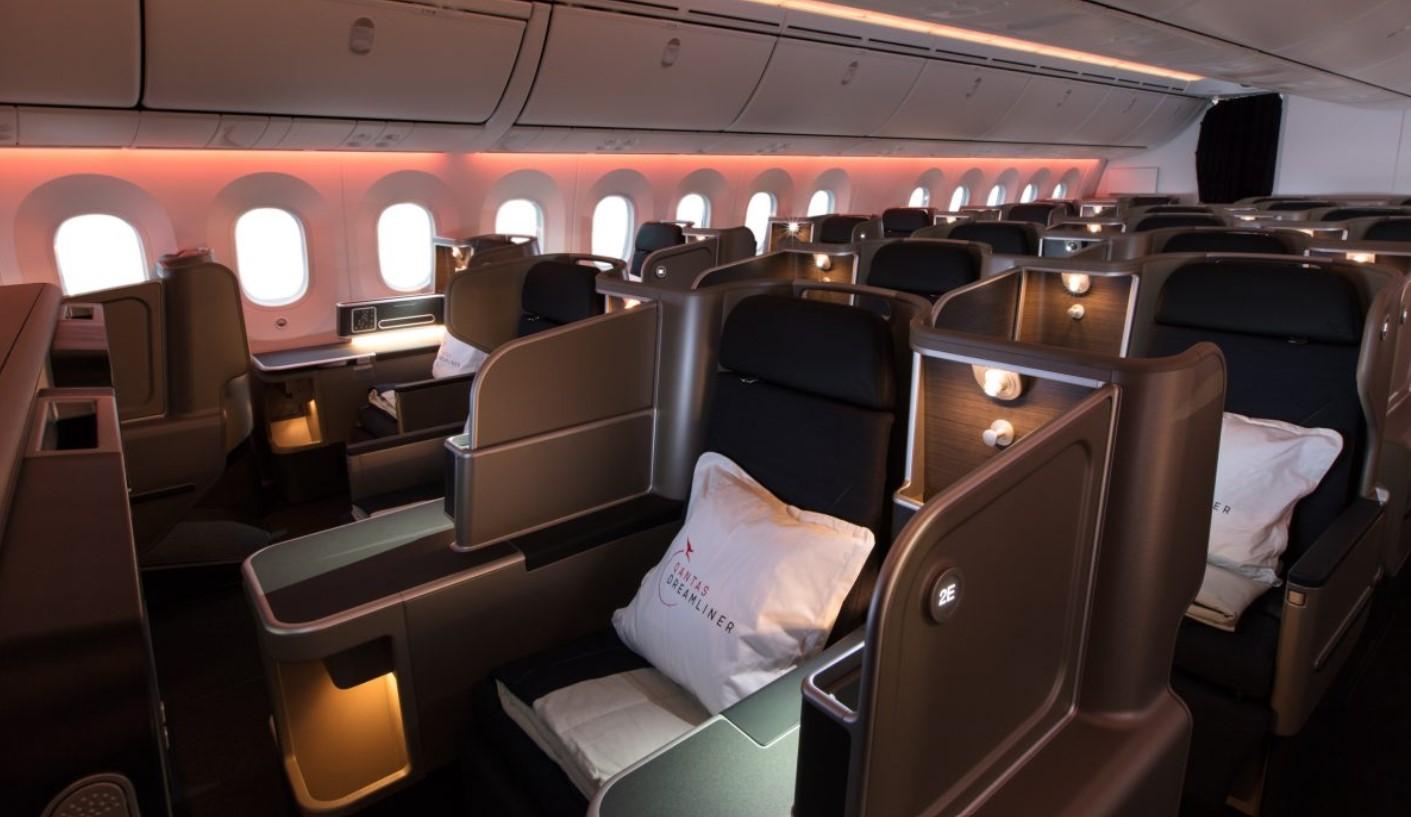 Qantas 787 Business