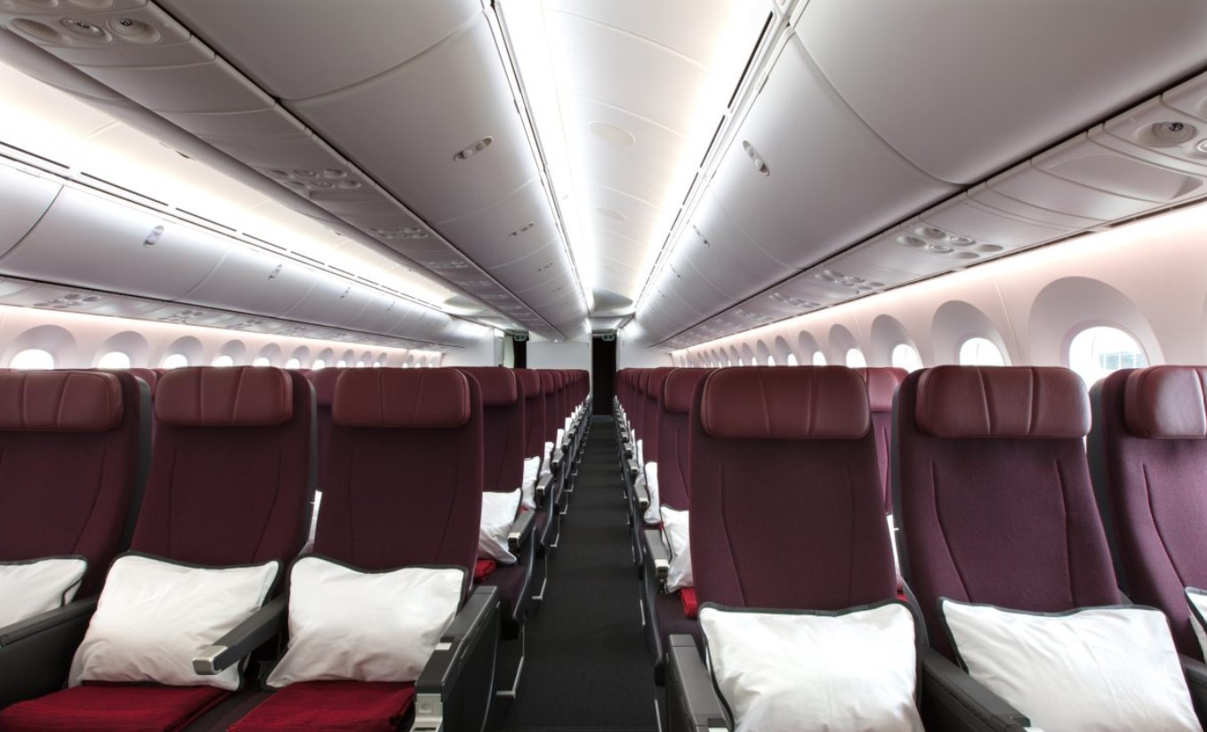 Qantas 787 Economy