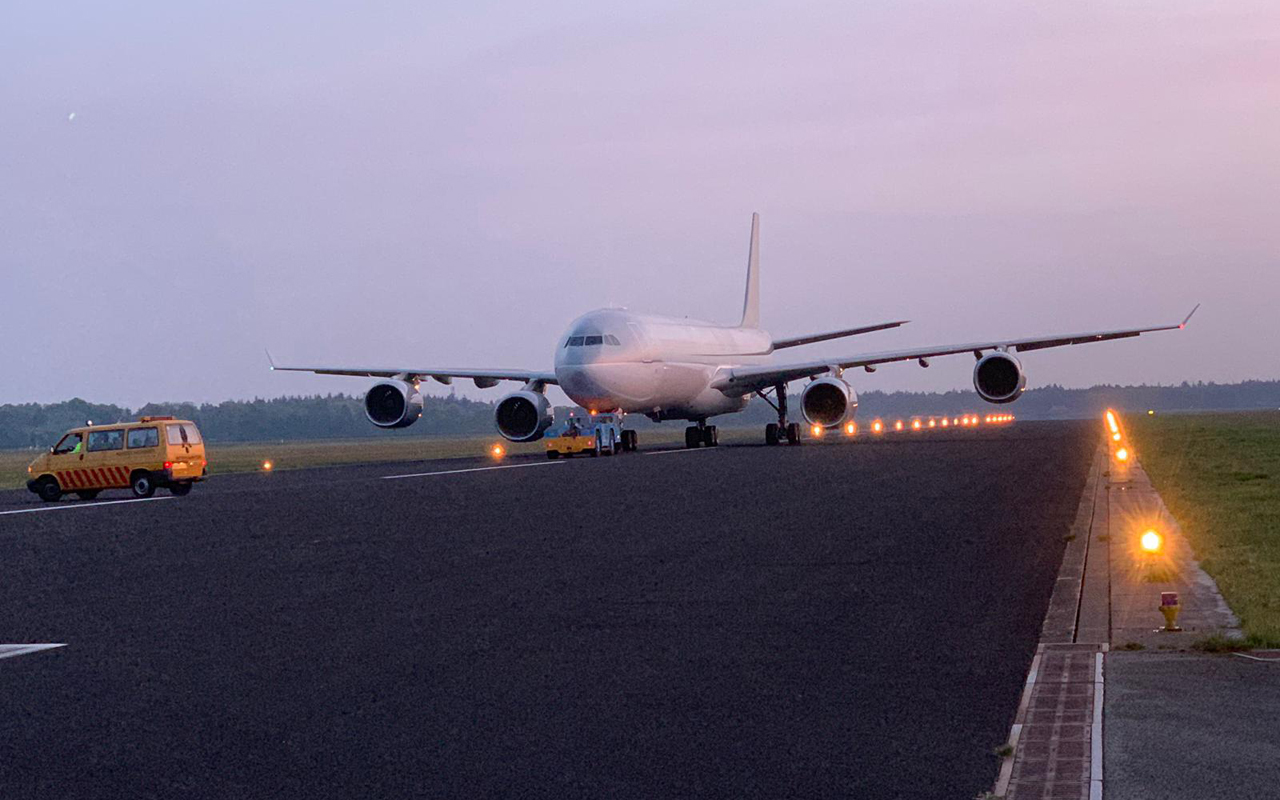 Qatar Airways A340 Twente