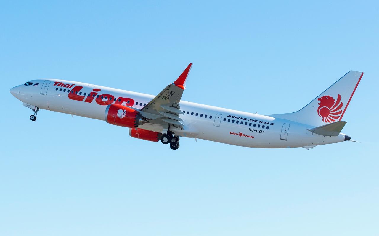 Thai Lion Air Boeing 737 MAX 9