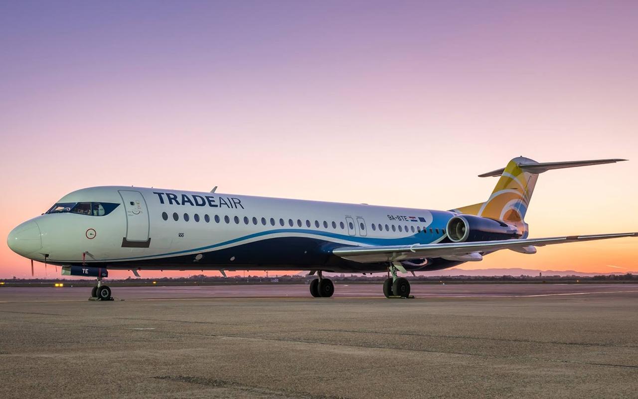 Trade Air Fokker 100