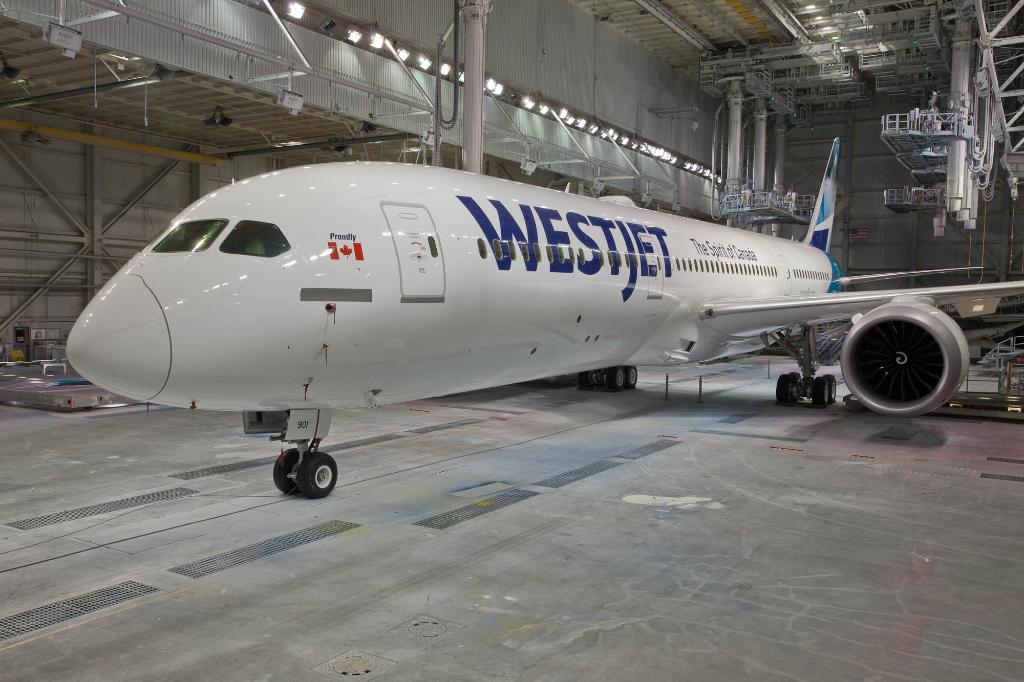 WestJet Boeing 787-9 Dreamliner