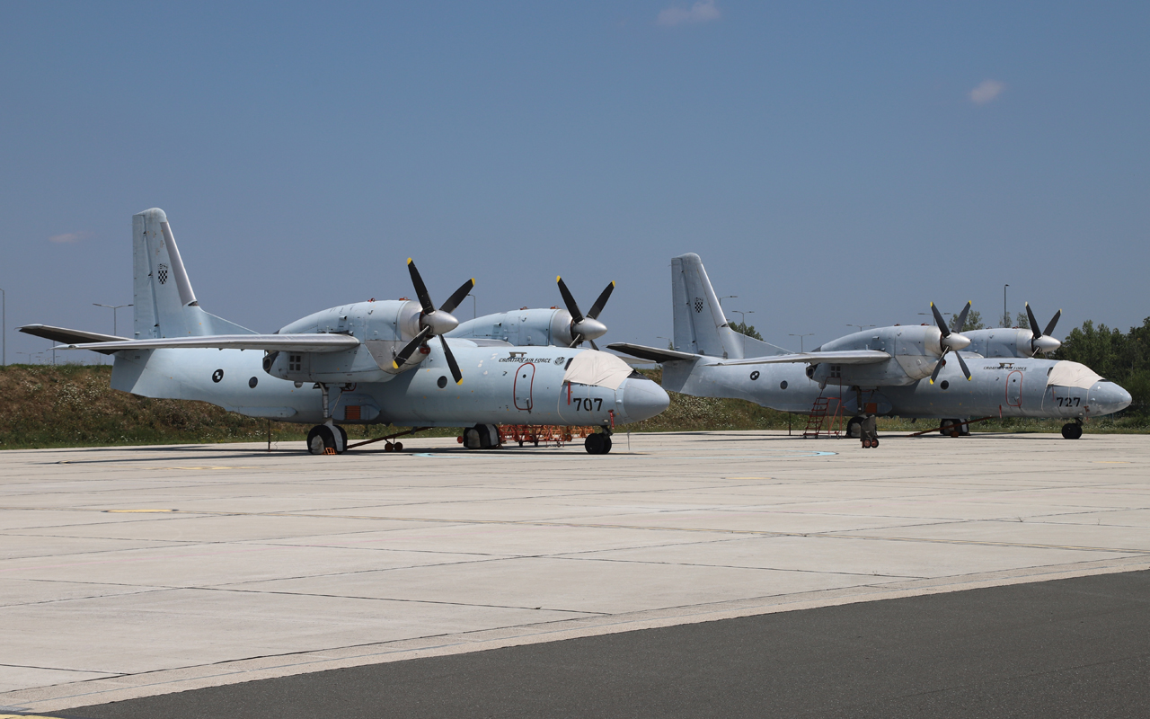 Croatia Air Force Antonov An-32