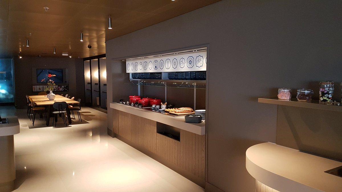 Star Alliance Lounge Schiphol